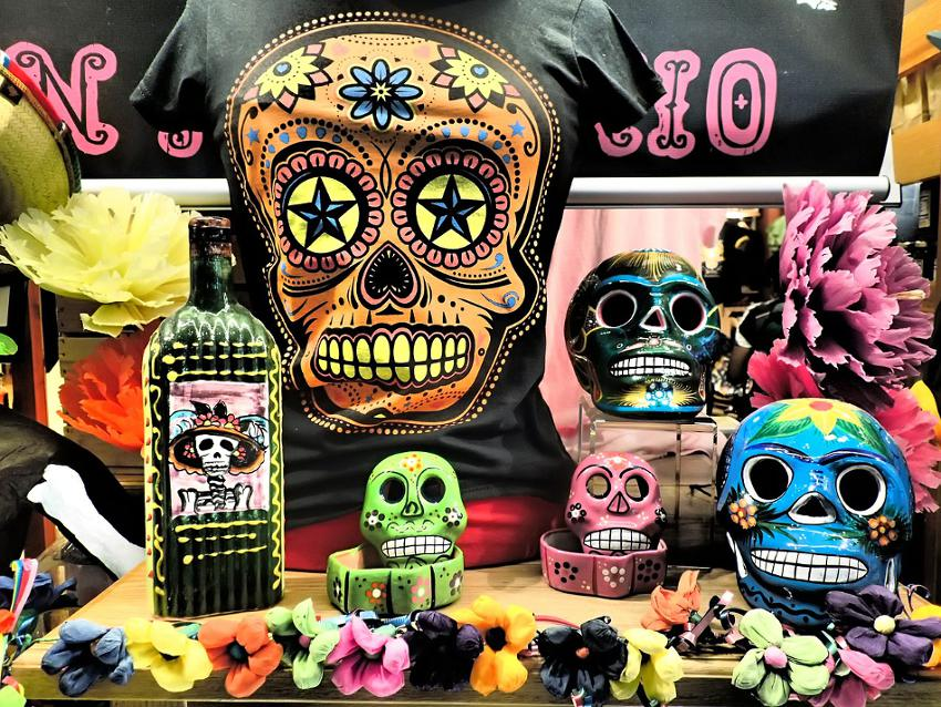 Day of the Dead Theme Colors and Symbols