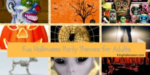Halloween party themes infographic