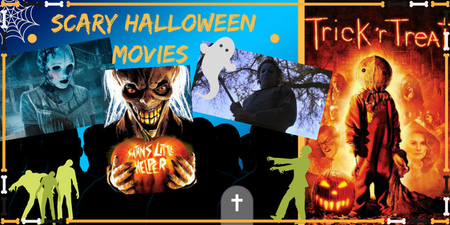 Scary Halloween Movies Infographic