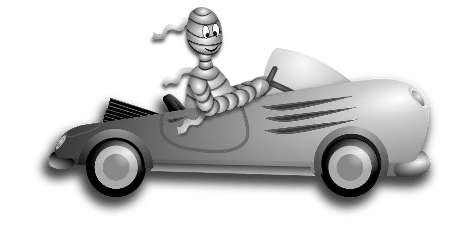 halloween jokes for kids mummy in car