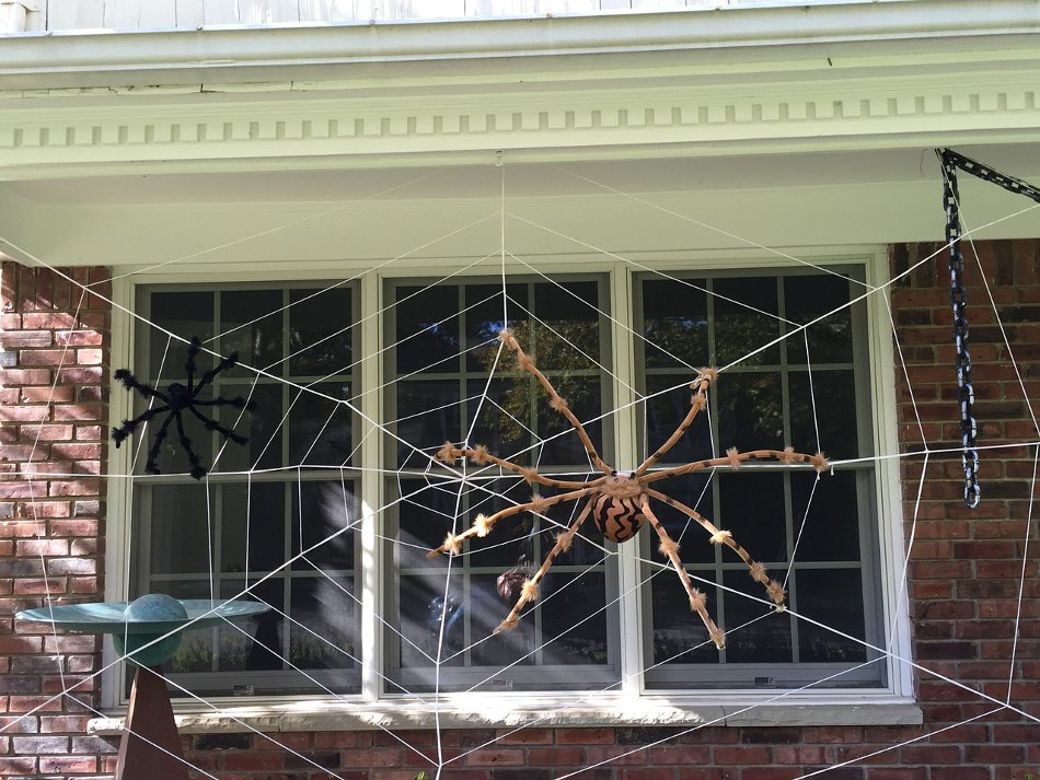 Large Halloween Spider Decoration