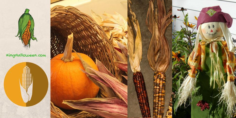 Halloween Corn Husks Symbols