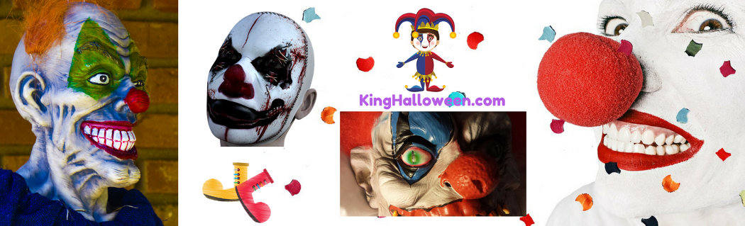 Halloween Symbols Clowns Multiple Images
