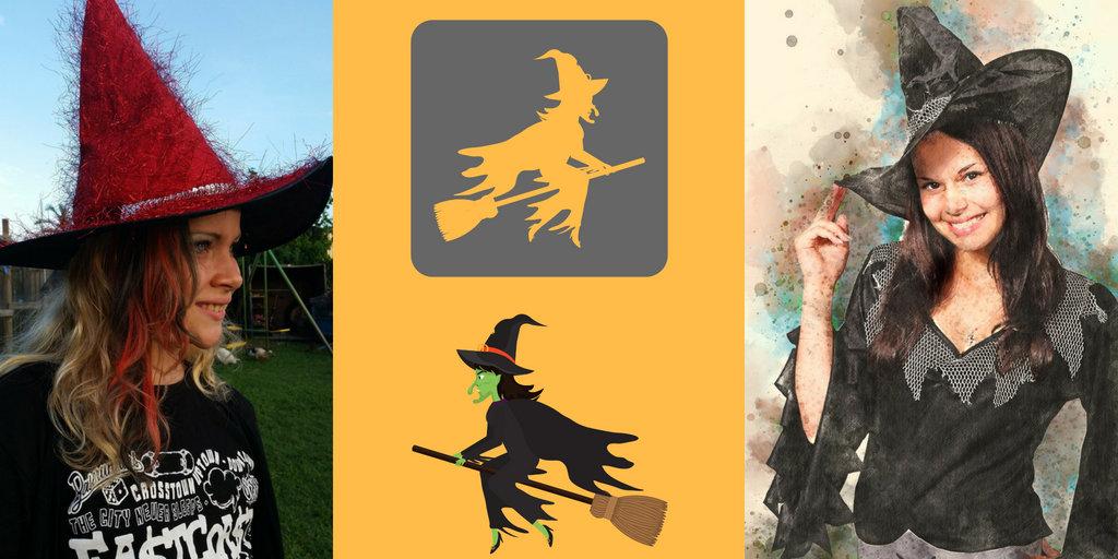 Halloween Witch Symbols