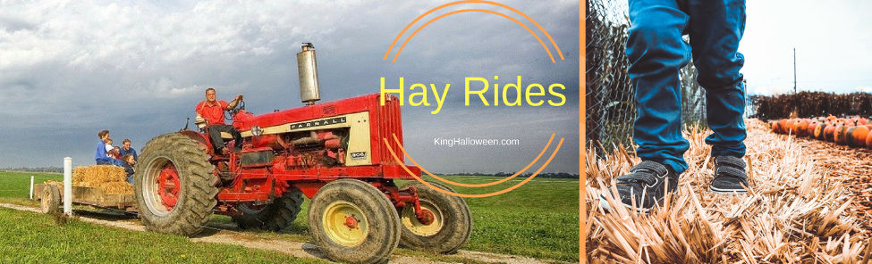 Hay Rides Halloween Tradition