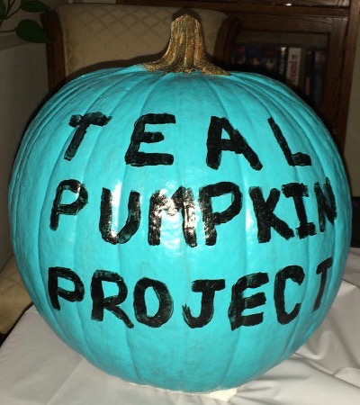 Teal Pumpkin Project Painted San Clemente