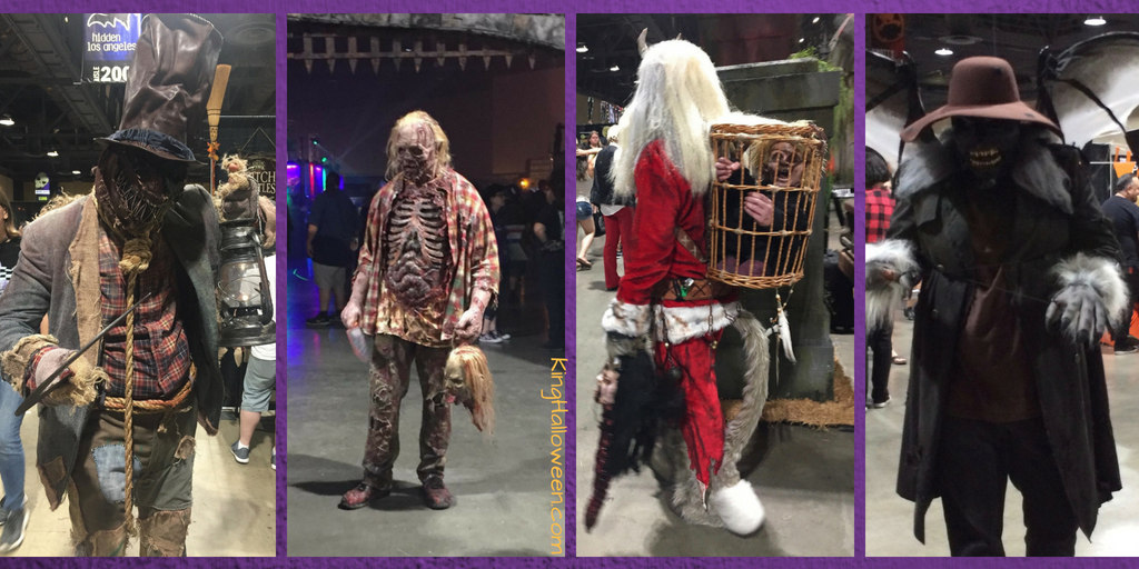 Costumes at Midsummer Scream 2018