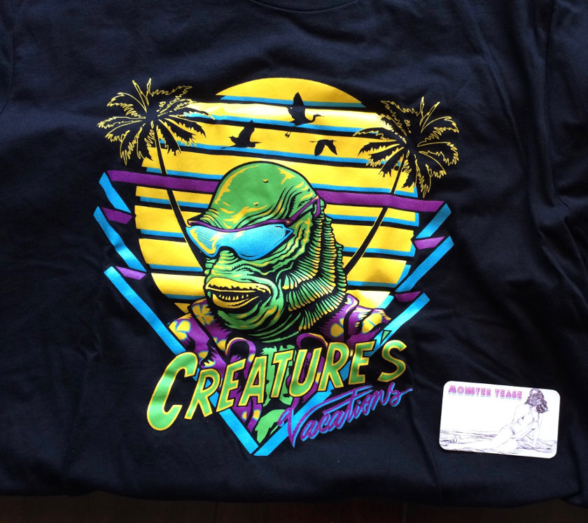 Creature Halloween stuff shirt