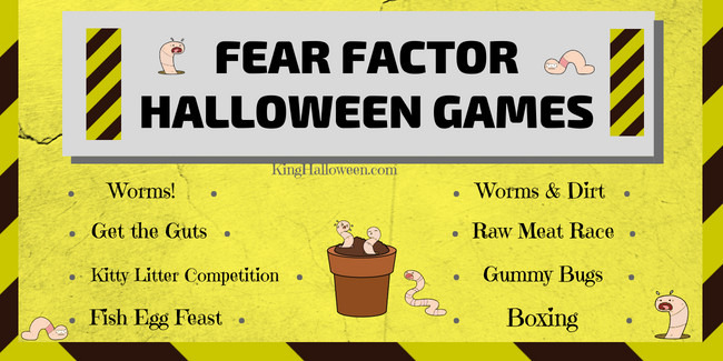 FEAR FACTOR Fun Halloween Games for Kids
