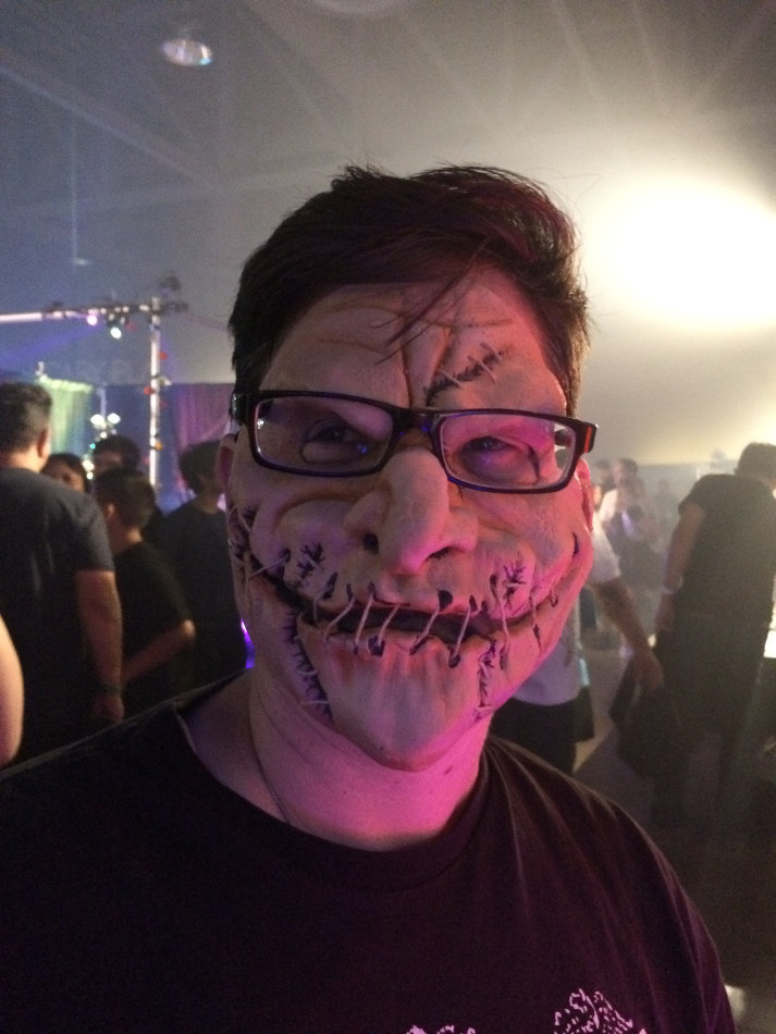 Halloween Mask at Midsummer Scream