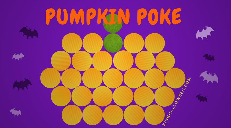 Pumpkin Poke Halloween Games for Children