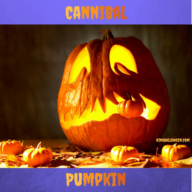 Cannibal Pumpkin Graphic