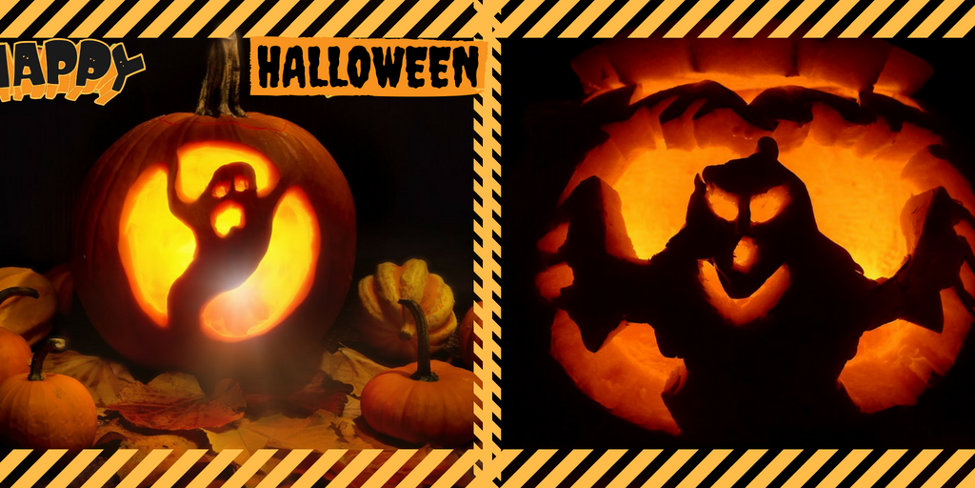 Ghost Pumpkin Two Graphic-2