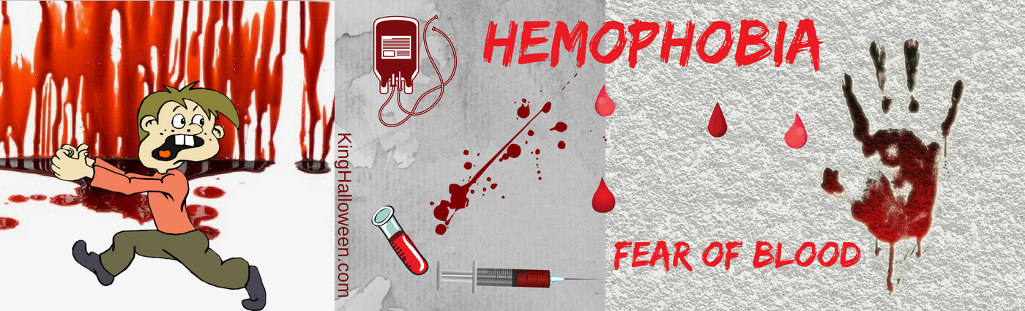 Hemophobia Graphic fear of blood