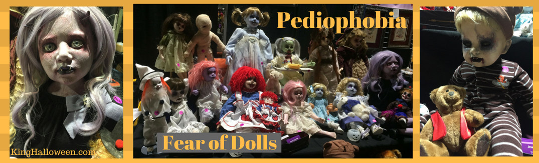 Pediophobia fear of dolls
