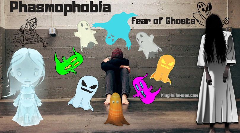 Phasmophobia fear of ghosts