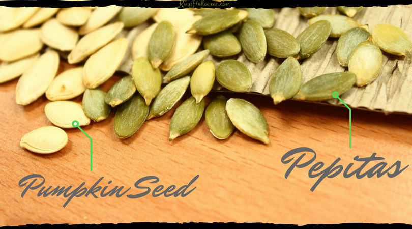 Pumpkin seeds vs. Pepitas