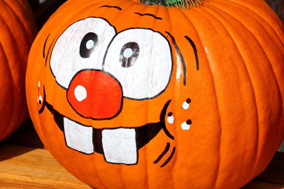 no carve pumpkin ideas face painting