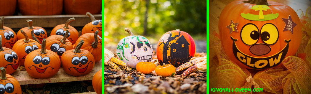 no carve pumpkin ideas paint and christian halloween