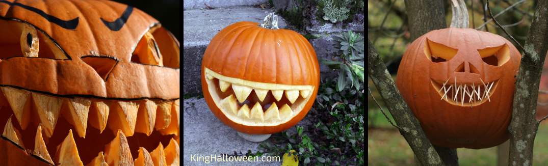 scary pumpkin carving ideas teeth