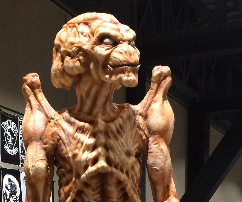 Pumpkinhead movie Creature at Midsummer Scream