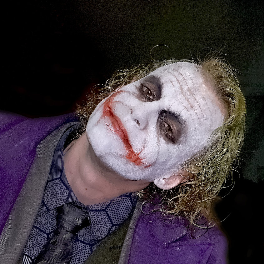 The Joker Death Knight Cosplay