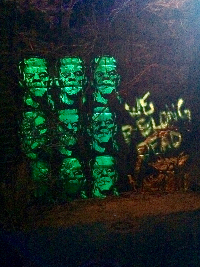 Universal Monsters Maze HHN Hollywood