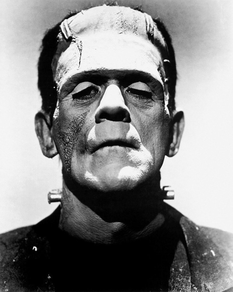 frankenstein Images Boris Black and White