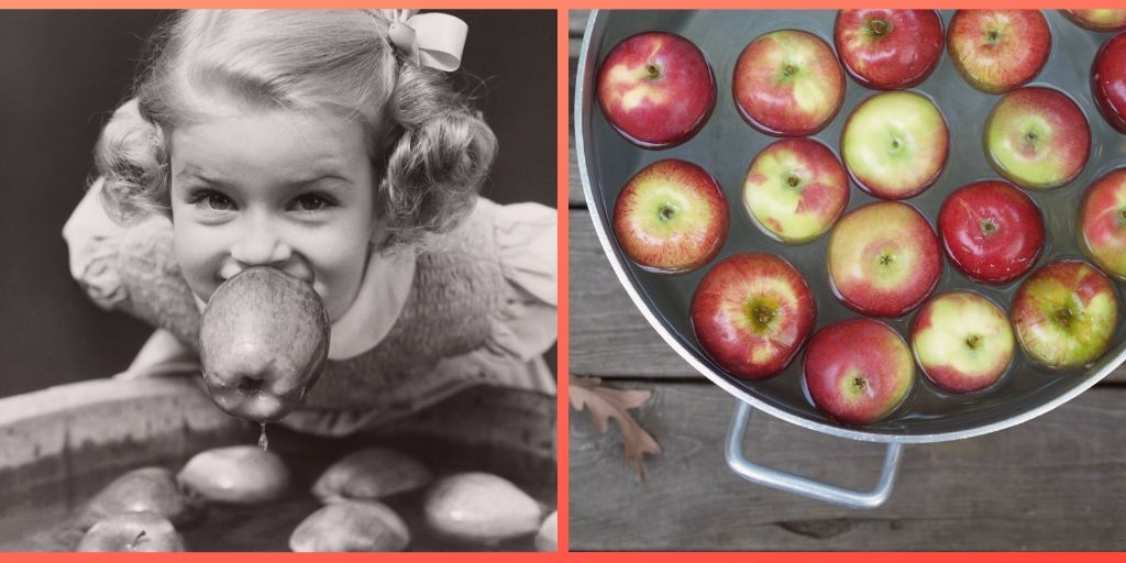 Halloween Games Bobbing for Apples