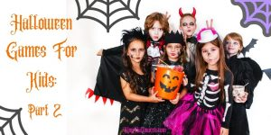 Halloween Games for Kids Part two Graphic