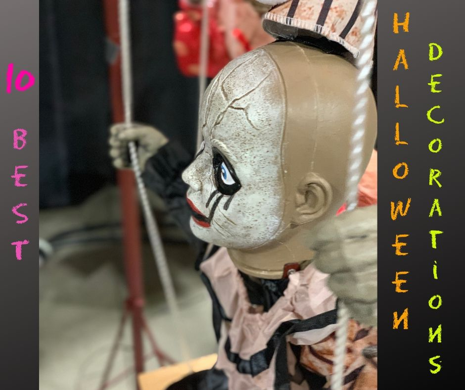 ten Halloween decorations site