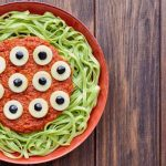 Eyeball Pasta Dish