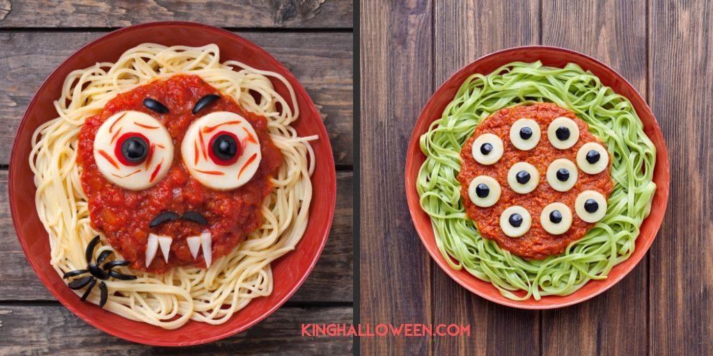 Halloween Pasta Recipes