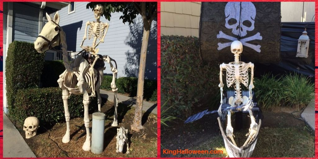 Skeleton Halloween Yard