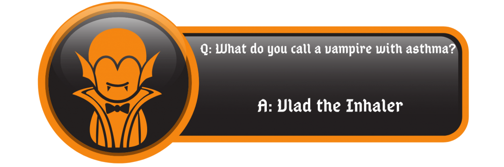 Funny Vampire jokes vlad the inhaler quote