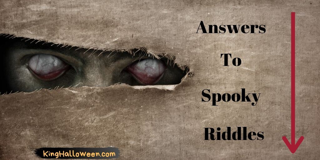 Scary Riddles King Halloween