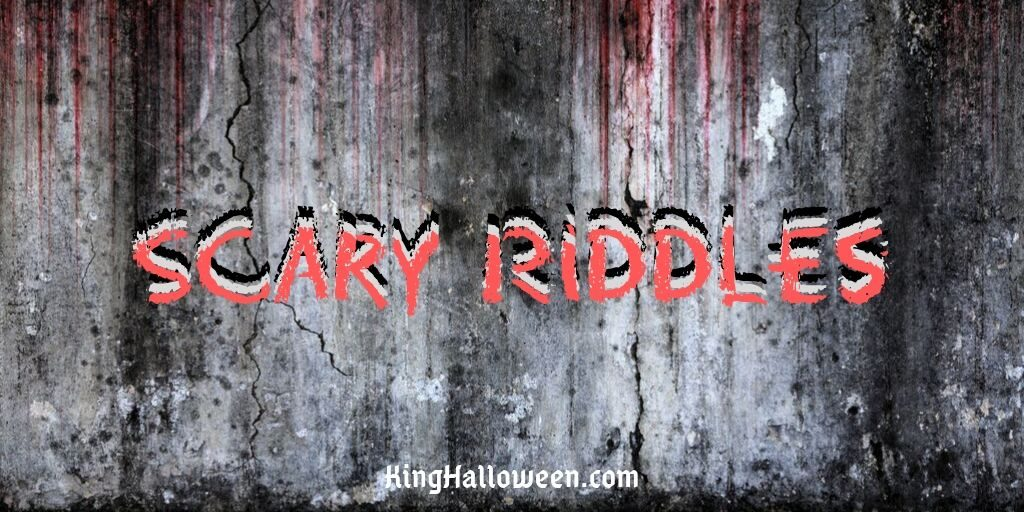 Scary Riddles Title Page